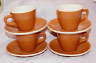 Vintage Restaurant Syracuse China Adobe Ware 8 pc coffee cup w saucer 1944 1946