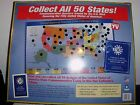 United States of America State Coin Collector's Map 1999-2008 W/O Quarters