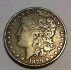 1879-CC Key Date Morgan Dollar XF+ Great Detail Breastfeathers!! LOOK free Ship