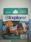 LEAPSTER EXPLORER PHINEAS AND FERB GAME LEAP FROG LEARN LEAP PAD LEAPSTER GS NEW