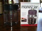 NIB Electronic Coin Counting Plastic Money Jar Piggy Bank! Birthday or Christmas