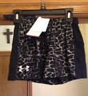 UNDER ARMOUR Intensity 3' Athletic Shorts Black/Silver Print. YOUTH S NWT $24.99