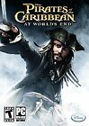 NEW SEALED PIRATES OF THE CARIBBEAN AT WORLDS END PC COMPUTER GAME