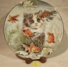 ThriftCHI ~ Cat Themed Collectors Plate - Fishful Thinking By Pam Cooper