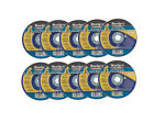 Pack of 10 Metal Cutting Discs 3