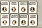 2007-2014 presidential set NGC PF 70 UC 32 coins in 2 ngc boxes
