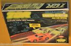 VINTAGE 1978 IDEAL TCR LIGHTED BLAZERS SLOTLESS TRACK SET W/2 CARS