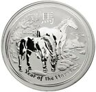AUSTRALIAN Year Of The Horse Coin .999 Silver Clad 1oz 2014 COLLECTORS COIN