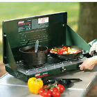 Two Burner Propane Stove Camp Cooking Outdoor Hunting Fishing Grill Gas Hiking