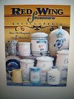 RED WING Stoneware $$$ id COLLECTORS BOOK Crocks JUGS + VERY COLLECTIBLE GUIDE