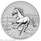 2014 1 oz Silver Coin Australian Stock Horse Perth Mint - LIMITED AND VERY RARE