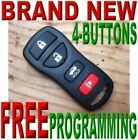 BRAND NEW COMPLETE REMOTE KEYLESS ENTRY TRANSMITTER CLICKER FOB FOR INFINTI 4BT