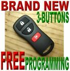 NEW COMPLETE REMOTE KEYLESS ENTRY REMOTE FOB CLICKER TRANSMITTER FOR NIS