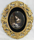 Large 19 Century hand painted German KPM porcelain plaque (5722)