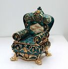 Wheelchair Trinket Box by Keren Kopal Faberge Egg Swarovski Crystal Jewelry