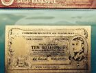 Australian Note 24k Gold Banknote Note 10 Ten Shillings (RARE) AUCTION $1.99