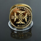 Rare 3rd Reich Nazi/German Knights Black Iron Cross WW2 Gold medal / token coin