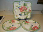 Certified International Pamela Gladding ~ 3  Platters  Butterflys