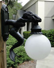 Outdoor Wall Light Sconce Fixture antique styl MERMAID nautical sea beach street