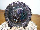 Fenton Mother's Day Plate 1971 Amethyst