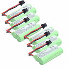 6x 800mAh Cordless phone Battery for Uniden BT-1008 BT1008 BT-1016 BT1016 DCX200