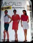 McCall's 1993 Pattern 6550 uncut size xsmall,sml, med Misses Tops