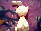Used Neopets White Aisha Kitty Cat Plush Toy,No Tag,6.5 inches tall,8.5