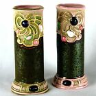 Antique Schafer & Vater Jewel Vases - Art Nouveau