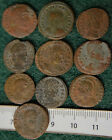 Collection of 10 Ancient Roman Coins. circa 300-400 AD. LOT TEN CLEANED COINS