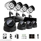 Funlux® 8Ch 960H Network DVR IR Light CCTV Home Security Camera System 500GB HD