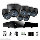Funlux® 8CH HDMI Recorder Home CCTV Surveillance Security Camera System 500GB HD