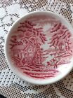 Enoch Woods English Scenery Woods  Ware Cranberry 4 1/2
