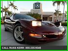 Chevrolet  Corvette CLEAN CARFAX HEADS UP DISPLAY PANO ROOF CALL DB 2003 chevrolet corvette 57 l v 8 16 v automatic rwd coupe heads up pano bose