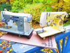 KENMORE  37 yellow clone Necchi  sewing machine  manual cabinet acc.  1957 RARE