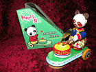 Toy China BEAR PANDA  Drumming Animal Clockwork MS.565 NEW MINT