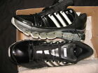 adidas men run walk microbounce scorch blacks shoe big size sz 14US 15US