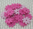 50pcs Padded Felt Spring Flower craft Appliques  H136