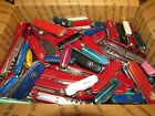 20 Pound Lot of Assorted Victorinox and Wenger Swiss Army Knives Used #1023