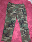 USMC NEW CAMOUFLAGE OLD STOCK,X-LARGE LONG ,WAIST OVER 39,INSEAM 32.5 T 35.5