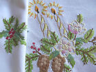 1313315013794040 1 Vintage Christmas Tablecloth