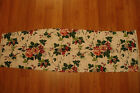 New WAVERLY Pleasant Valley Fabric Material shabby red rose cottage chic