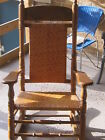 Brumby Jumbo Rocking Chair-Oak-Color Brown-Very Good Condition-Very Nice!