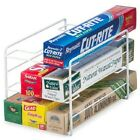 Kitchen Wrap Organizer Cabinet Pull Out Home Storage And Organization New