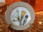 Fitz And Floyd Fleurs De Printemps Salad Plates Fine Porcelain China - NIB
