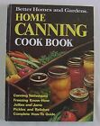 Vintage 1974~BETTER HOMES AND GARDENS HOME CANNING COOK BOOK~HC~Preserving