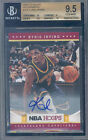 2012-13 hoops autographs #223 KYRIE IRVING rookie BGS 10 9 9.5 10 auto 10