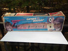 Ohio Art 1960's Mystery Shooting Gallery Target Practice Tin Toy Game w Box