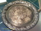 Old Vintage Sheridan Taunton Silversmith's Silverplated Serving Plate - Heavy!!