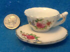 JAPAN MARK-E/F or H/F in Circle-Mini/Miniature Tea Cup/Saucer-China-VTG/Antique