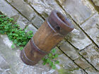 Antique wood firkin churn primitive dairy farm tool for extraction butter milk